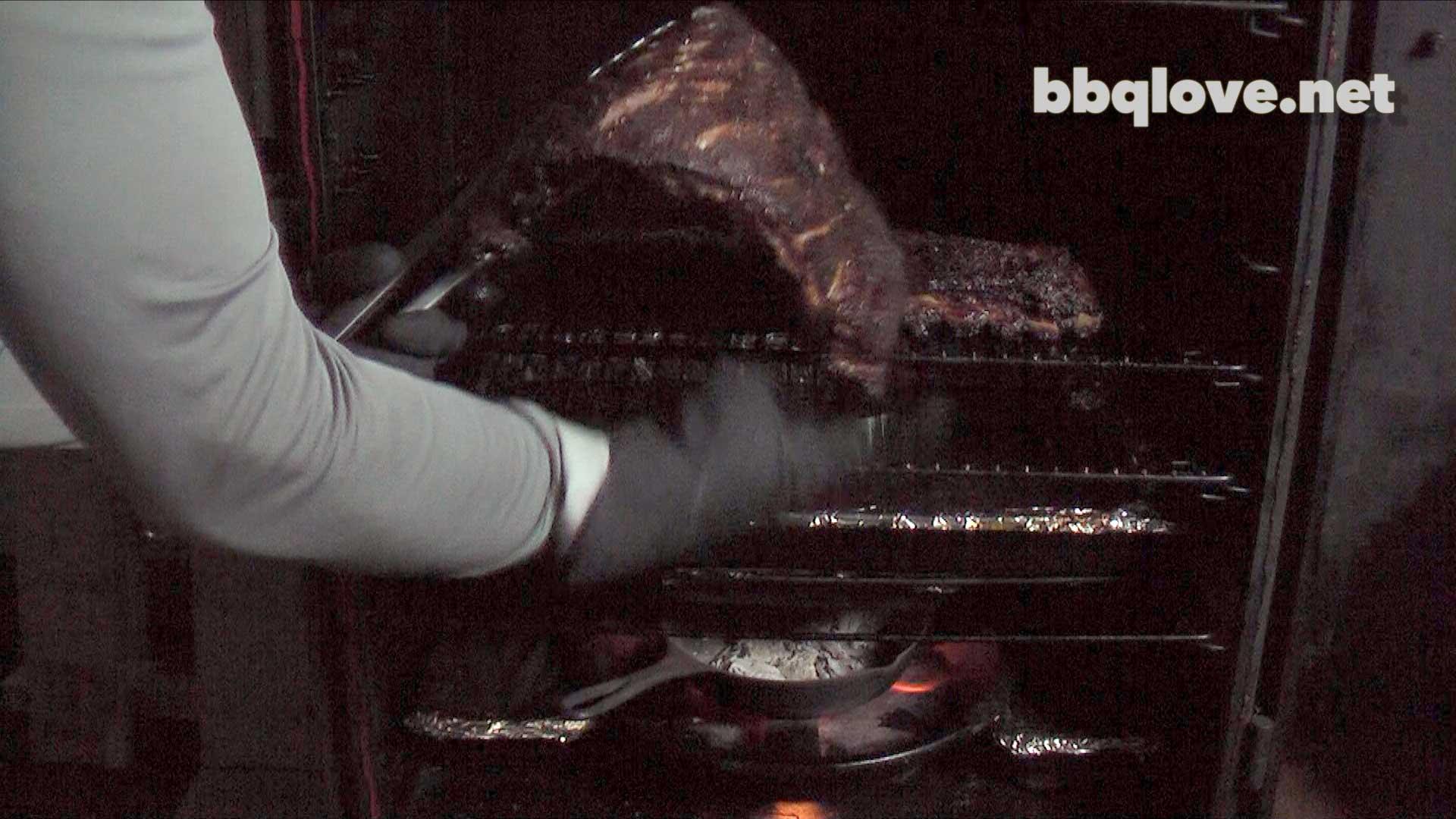 Smoked St Louis Cut Pork Ribs Brown Sugar Love Rub How