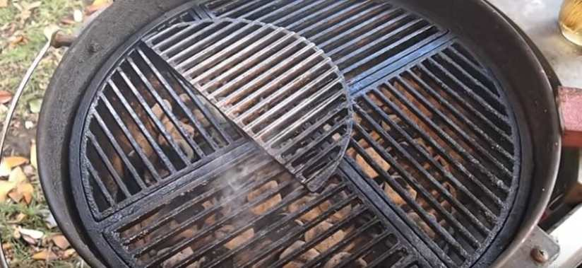 cast iron grill grates