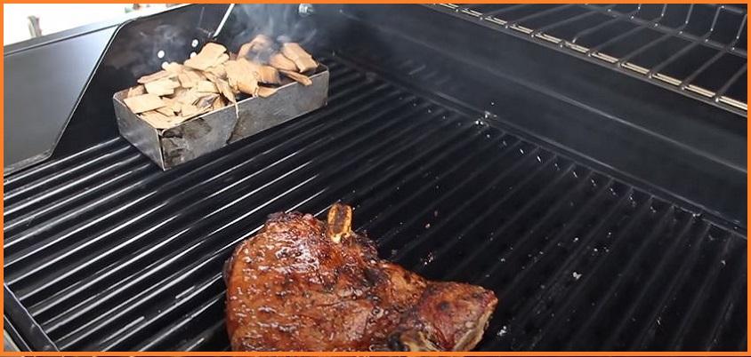 Smoke Grilling Flavorful Food
