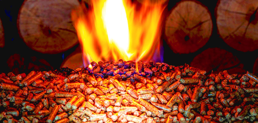 What are wood pellets used for