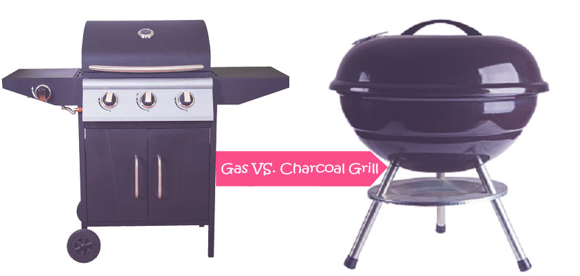 Gas vs charcoal grills