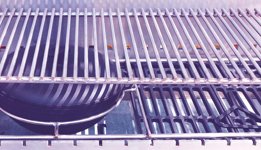 smoker gas grill