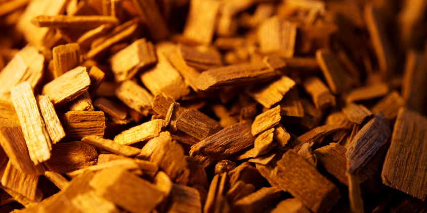 soak wood chips