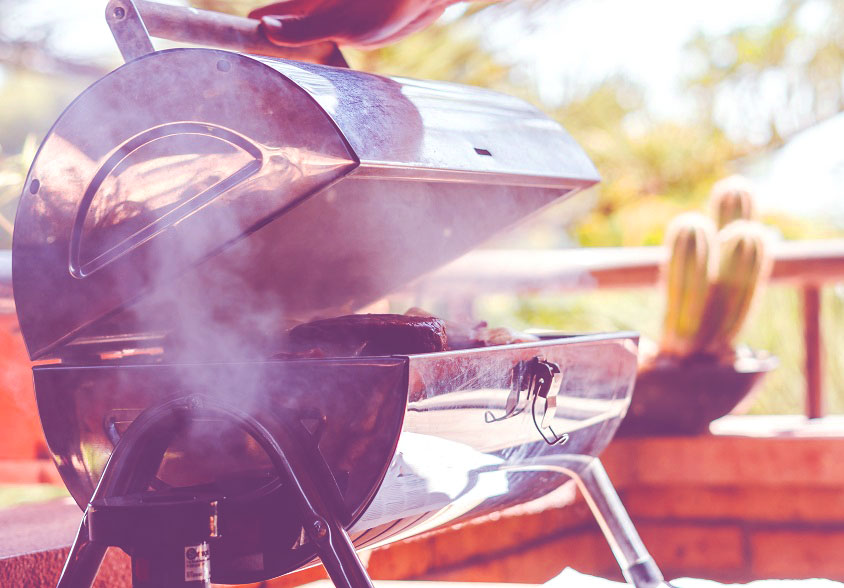 propane smoker grill