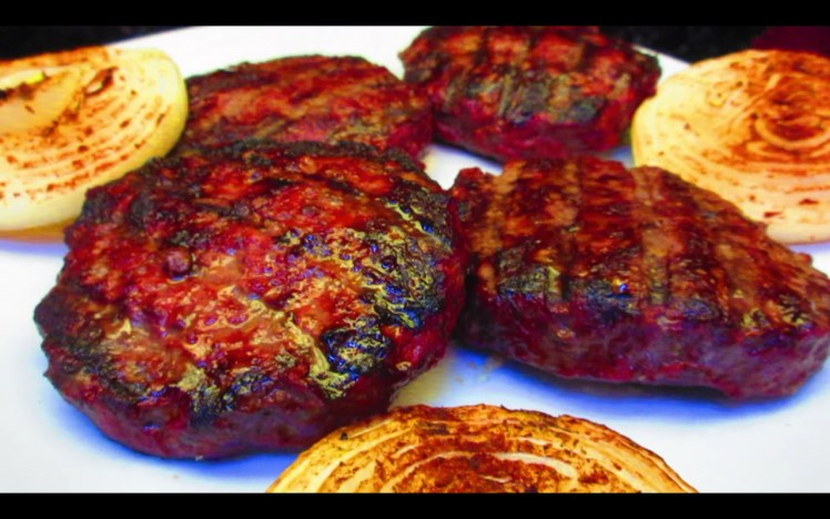 #BBQBurger #Paleo #Diet #GrilledOnions #HEROIC #GlutenFree