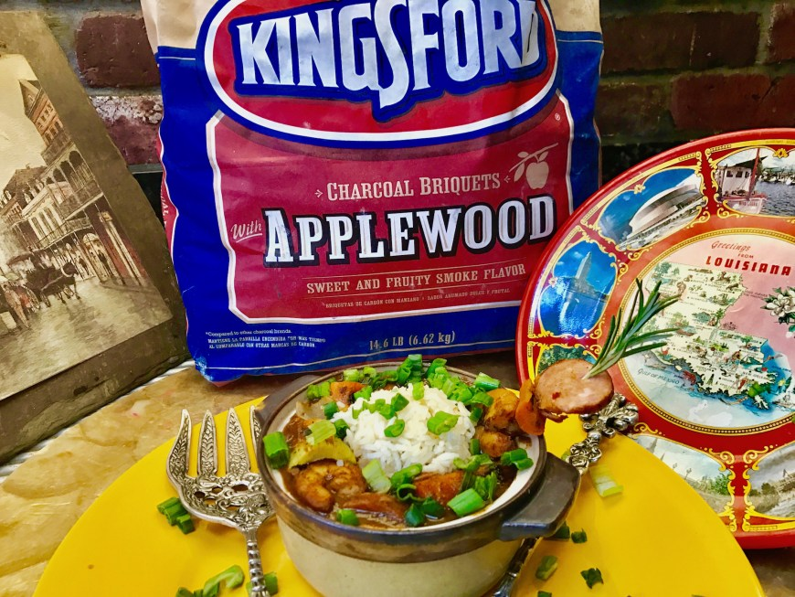 #Kingsford #Applewood #Charcoal #BBQ #Gumbo #GetFitChallenge