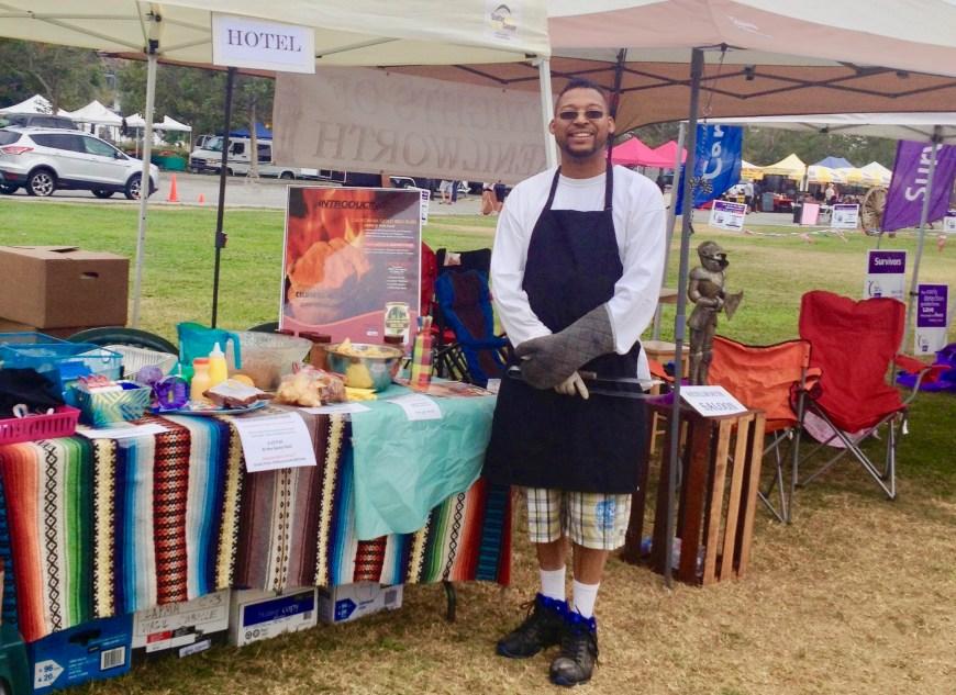 #ChefMickBrown #AmericanCancerSociety #RelayForLife #GeneAutryMuseum #GriffithPark June #2013.
