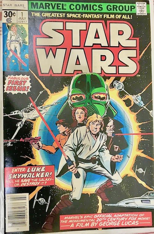 #StarWars #Comics #StarWarsIssue1 #BBQRESCUESFoundation.