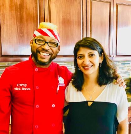 Chef Mick Brown,BBQ RESCUES! Foundation,Food Allergy seminar,Dr. Ruchi Gupta, MD,2018 World Food Championships