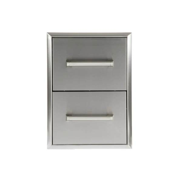 CD2C Coyote Outdoor Living Double Storage Drawer