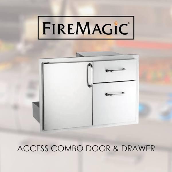 Fire Magic Combination Access Units