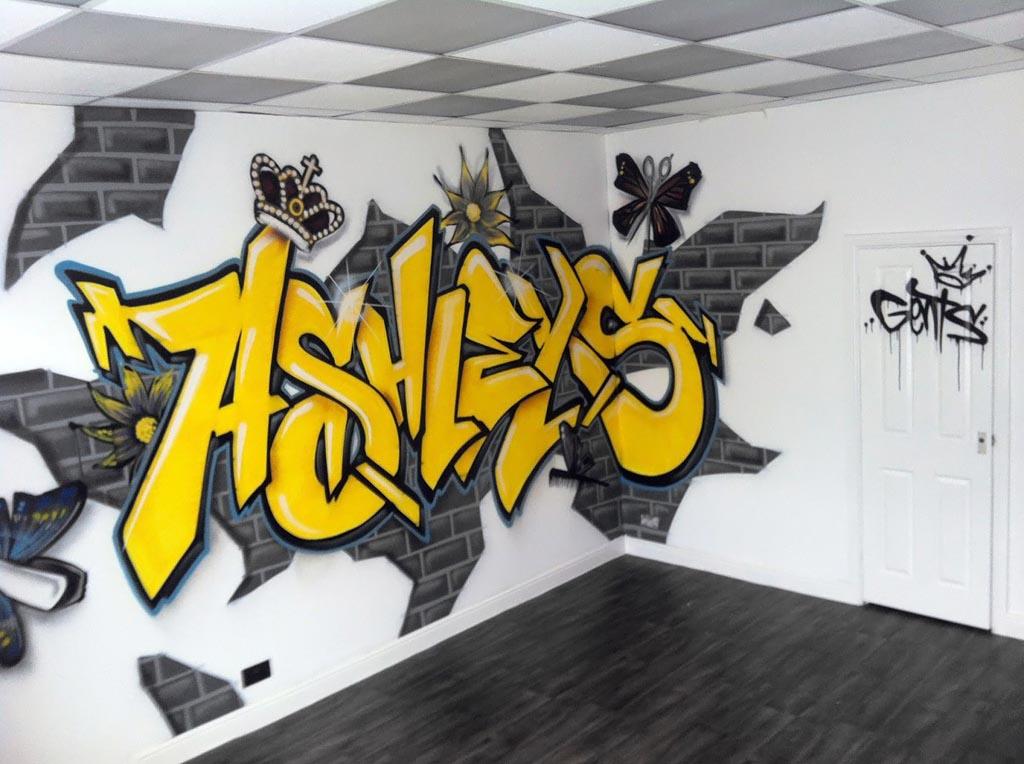 Amazing 3d Graffiti Artwork  BBER_ R