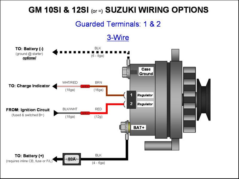 Wiring diagram for 3 wire gm alternator powerking gm 3 wire alternator wiring diagram wiring diagram publicscrutiny Image collections