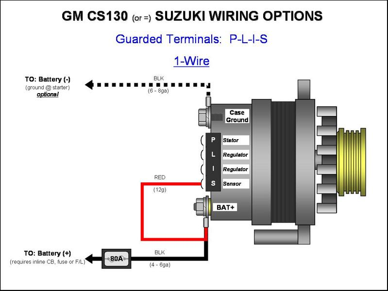delco cs alternator wiring diagram opel corsa b radio cs130 gm 105a??? help please!