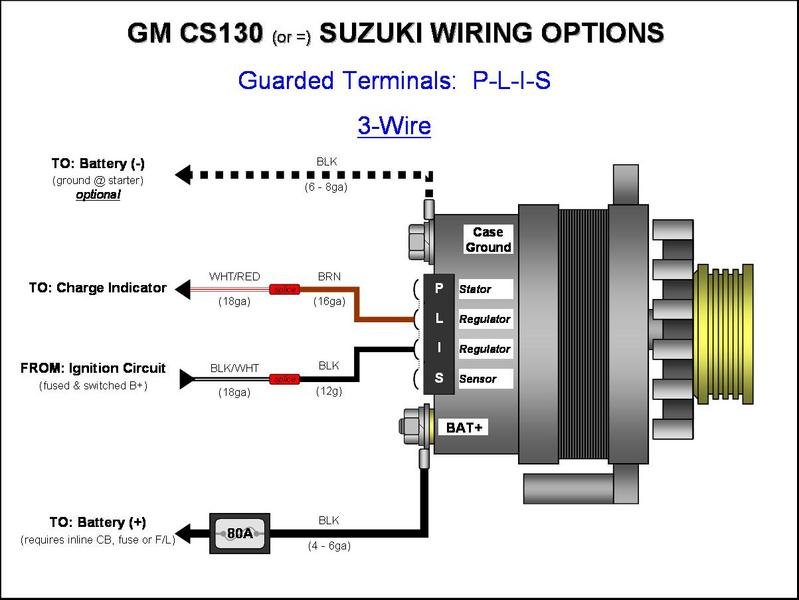 gm 1 wire alternator wiring diagram Wiring diagram