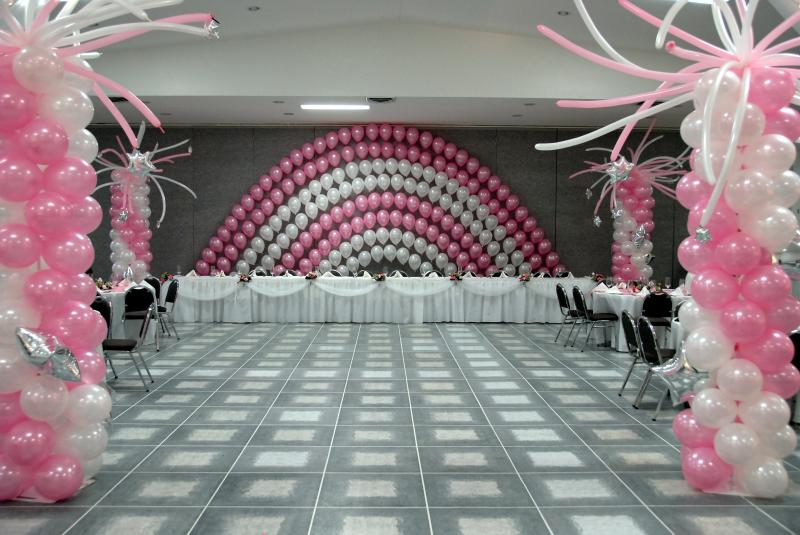 Simple Balloon Decoration Ideas For Birthday Party At Home