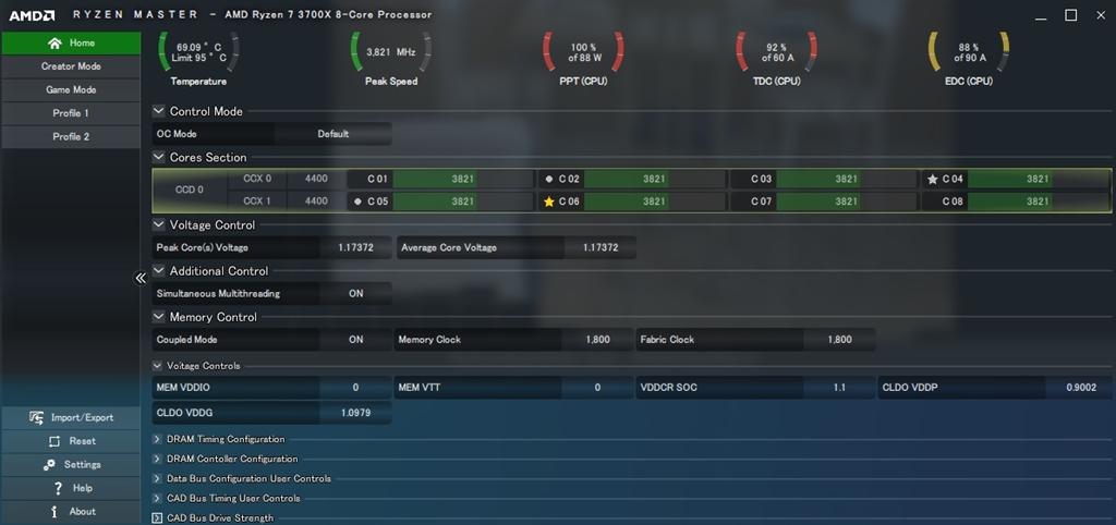価格.com - 『RYZEN MASTER』AMD Ryzen 7 3700X BOX キャッシュは増やせない ...