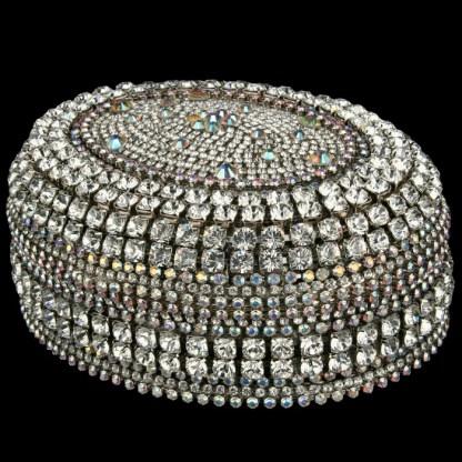 bb Simon Swarovski crystal jewelry box J-700