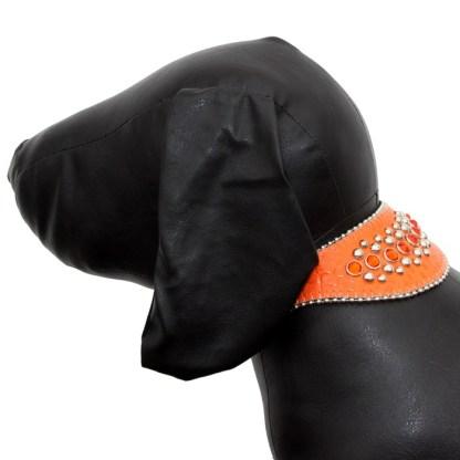 B.B.SIMON Dog Pet Cat Mia Swarovski Crystal Collar