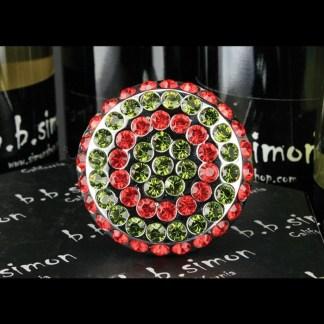 B.B.SIMON V4-LT.SIAM-OLIVINE
