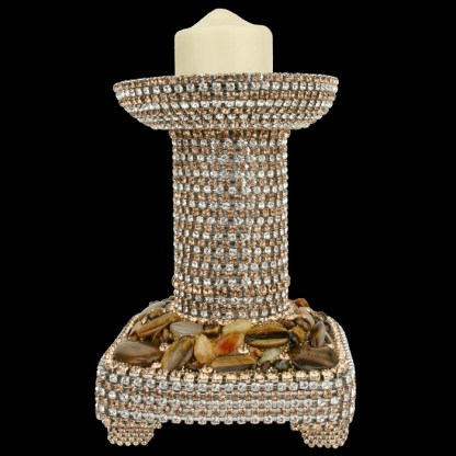 CDH-210 bb Simon Swarovskii crystal Candle holder