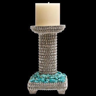 CDH-228 bb Simon Swarovski crystal Candle holder
