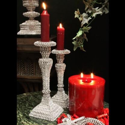 CDH-235 bb Simon Swarovski crystal Candle holder