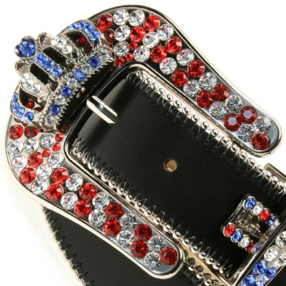 Constance RED WHITE & BLUE B.B.SIMON BELT