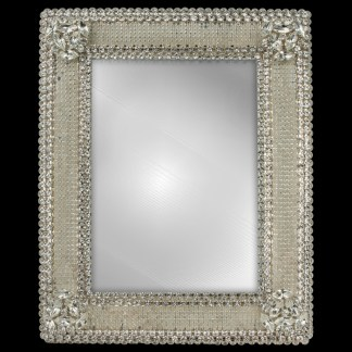 F-108-PEARL-M bb Simon Swarovski crystal frame