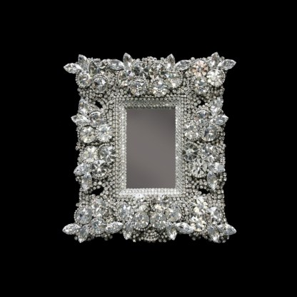 F-145-CLEAR-S bb Simon Swarovski crystal frame