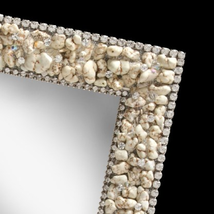 F-157-M bb Simon Swarovski crystal frame