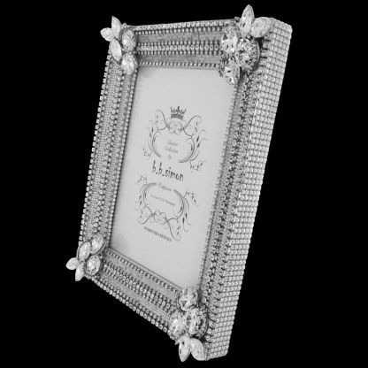F-165-L bb Simon Swarovski crystal frame