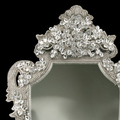 M-202 BB Simon Shimmer Bling Wall Mirror