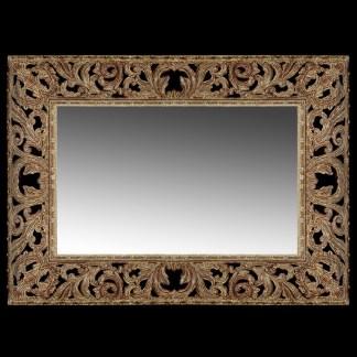M-506-GOLD BB Simon Gold Rectangle Wall Mirror