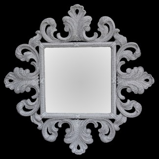 M-518-CLEAR BB Simon Unique Crystal Mirror
