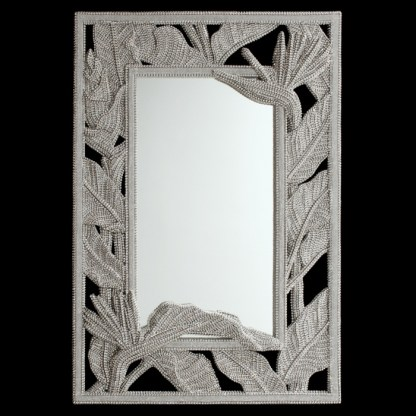 M-521 BB Simon Full Length Jeweled Mirror