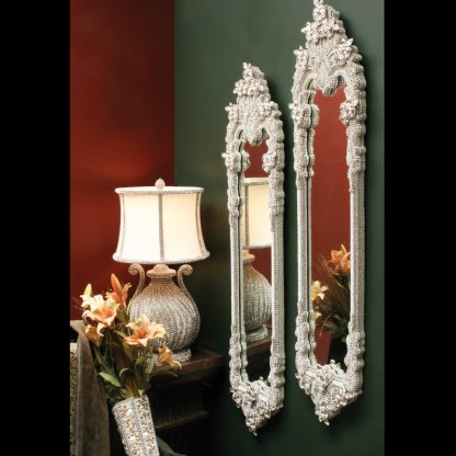 M-523 BB Simon Skinny Tall Jewel Mirror