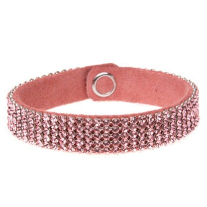MESH CUFF-5ROW-LT.ROSE