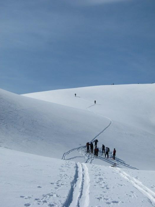 EBC broad ridge to the alpine.