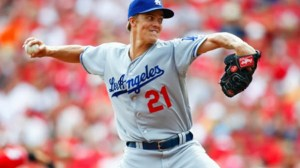 Zack  Greinke. Michael Hickey/Getty Images.