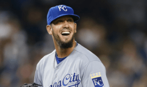 James Shields. Getty Images.