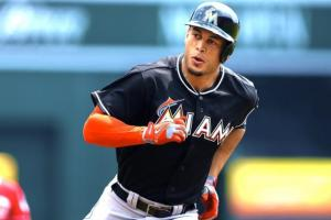 Giancarlo Stanton on pace to hit 63 homers in a single season