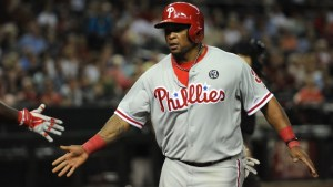 Marlon Byrd. Norm Hall/Getty Images.