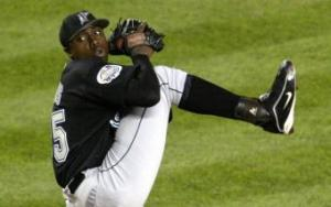 Dontrelle  Willis. Brian Bahr/Getty Images.