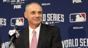Rob Manfred. Getty Images.