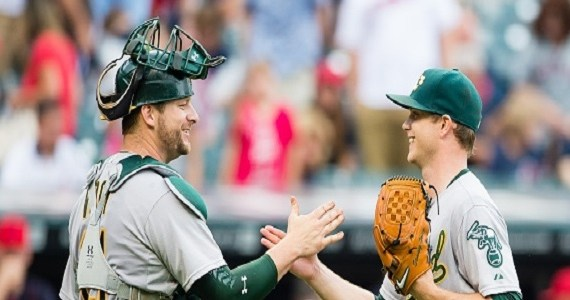positives, A's, Stephen Vogt, keep Gray, Sonny Gray