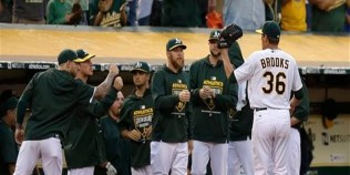 billy beane, deadline trades, aaron brooks, manaea