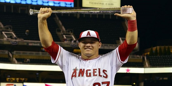 angels, mike trout