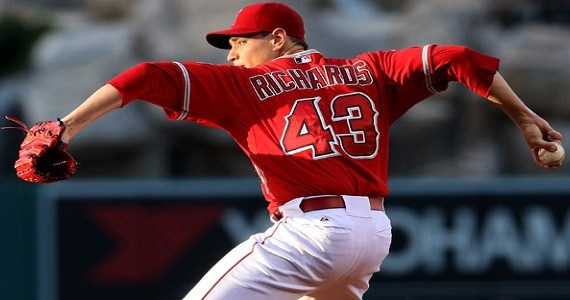 true ace, Garrett Richards, fifth starter