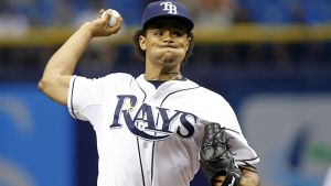 Chris Archer. Getty Images.